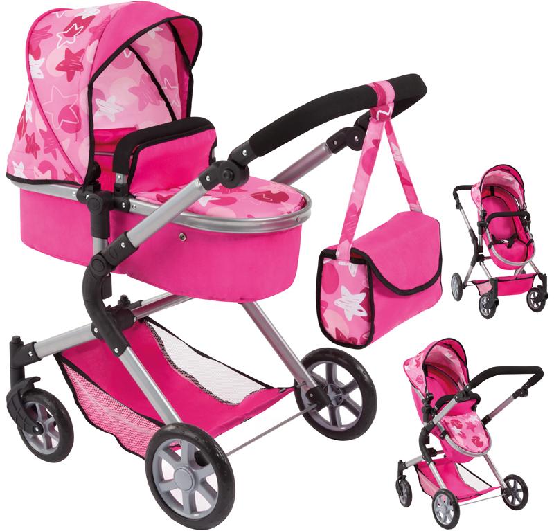 bayer-design-puppenwagen-city-neo-sterne-pink-rosa-kinderspielzeug-