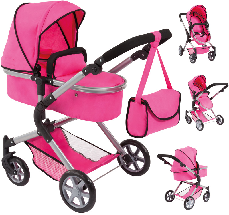Bayer Design Puppenwagen City Neo (Pink) [Kinde...