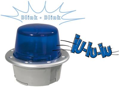 BIG Bobby Car SOS Blaulicht [Kinderspielzeug]