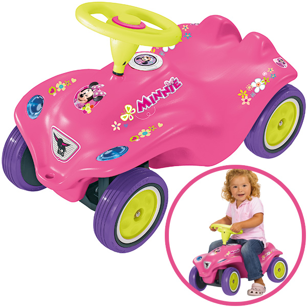 big new bobby car minnie maus pink ebay. Black Bedroom Furniture Sets. Home Design Ideas