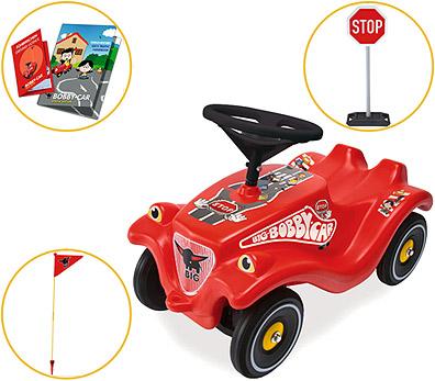 BIG Bobby Car Classic Verkehr Special Edition [Kinderspielzeug]