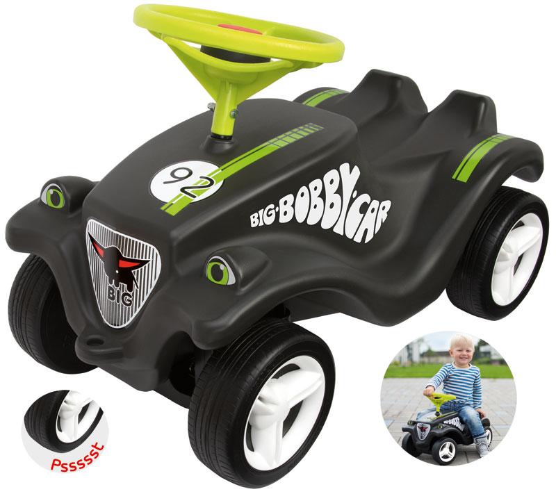 BIG Bobby Car Classic Racer (Schwarz) [Kindersp...
