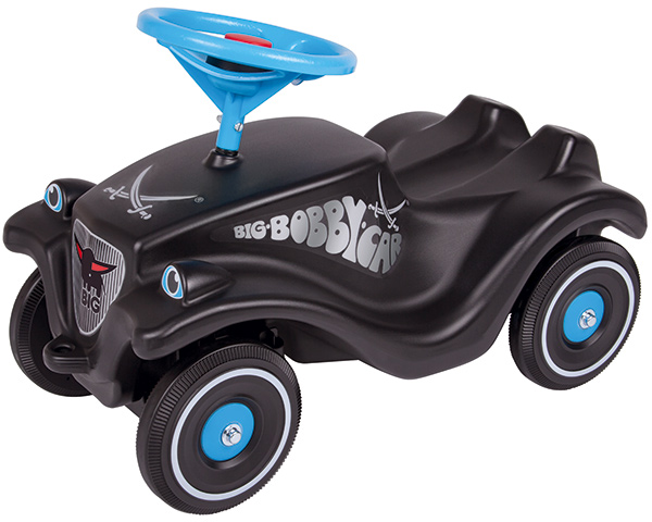 BIG Bobby Car Classic Sansibar (Schwarz Blau) [Kinderspielzeug]