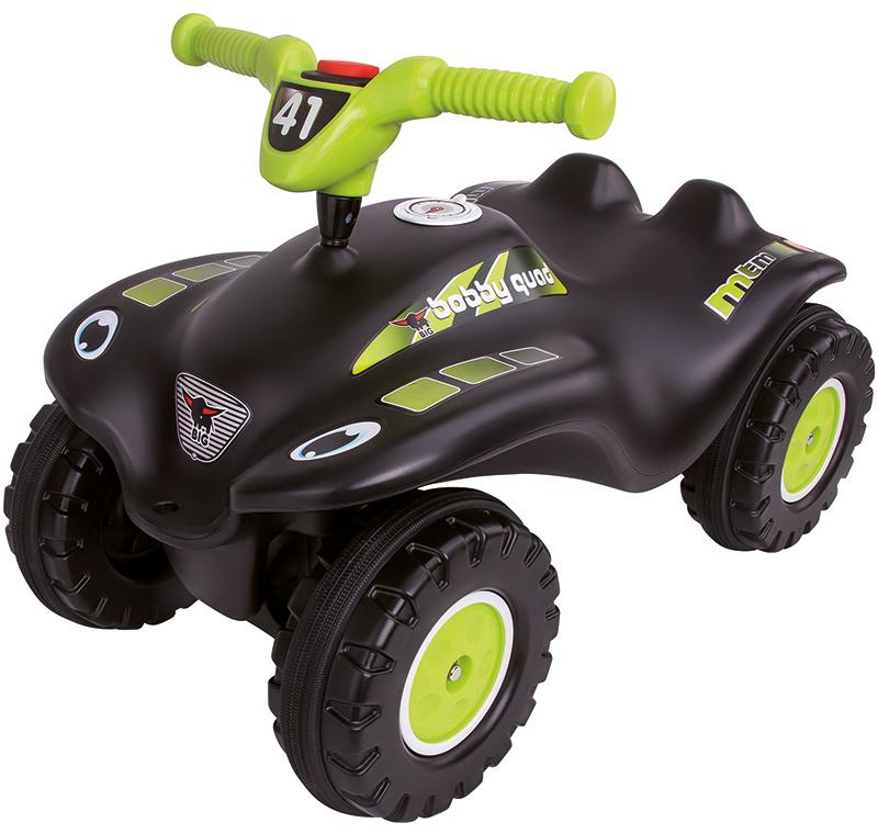 BIG Rutscher Bobby-Quad Racing (Schwarz) [Kinderspielzeug]