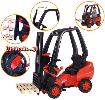 BIG Linde Forklift Gabelstapler [Kinderspielzeug]
