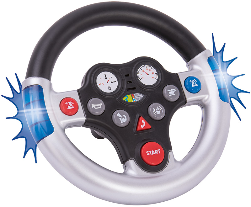BIG Bobby Car Rescue Sound Wheel Lenkrad [Kinde...