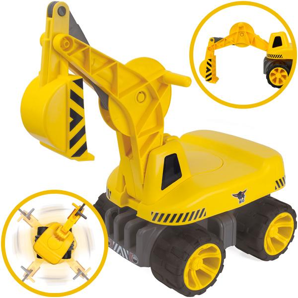 big-maxi-digger-schaufelbagger-kinderspielzeug-