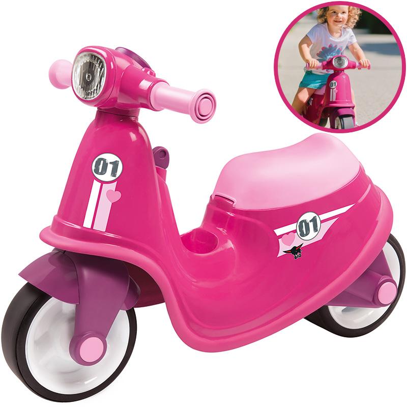 BIG Kinder Sitzroller Classic Scooter Girlie (Pink) [Kinderspielzeug]