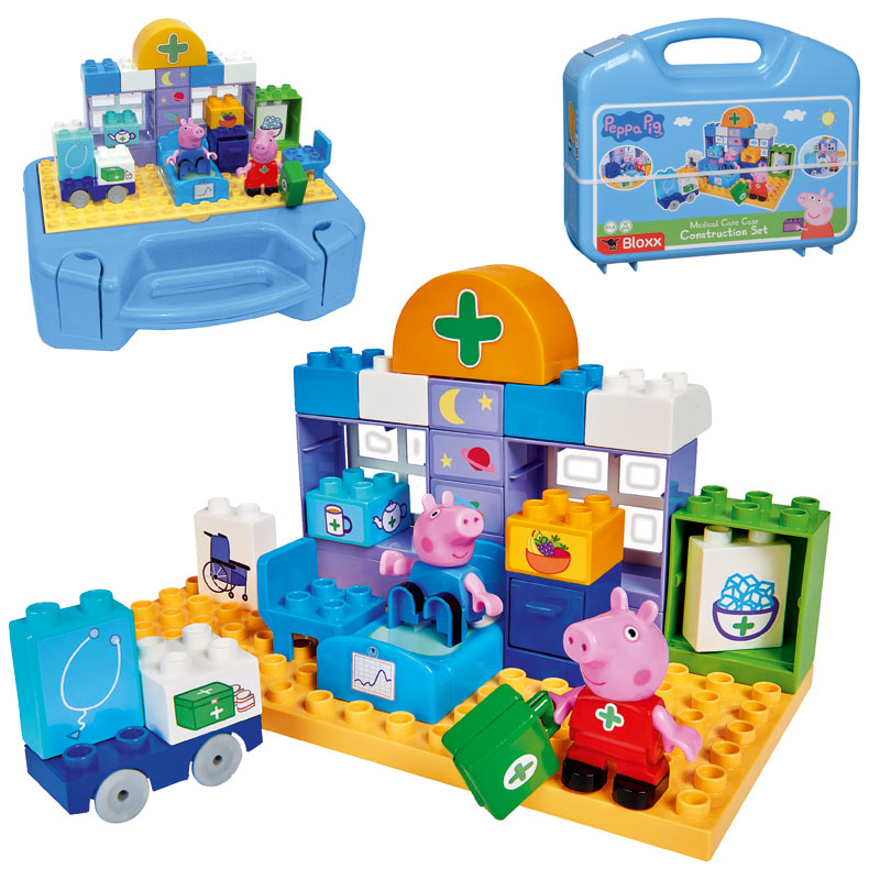 Ecoiffier Abrick Maxi Spiel und Lerntisch mit Tierbausteinen