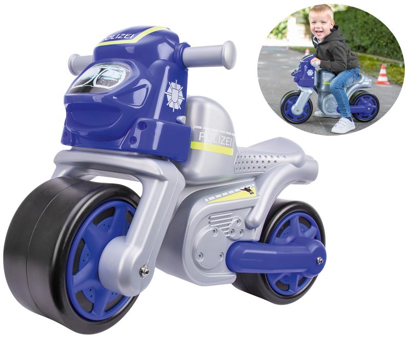 big sport bike motorrad polizei blau bei spielzeug24. Black Bedroom Furniture Sets. Home Design Ideas
