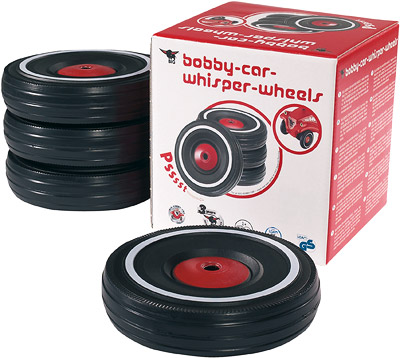 BIG Bobby Car Flüsterreifen [Kinderspielzeug]