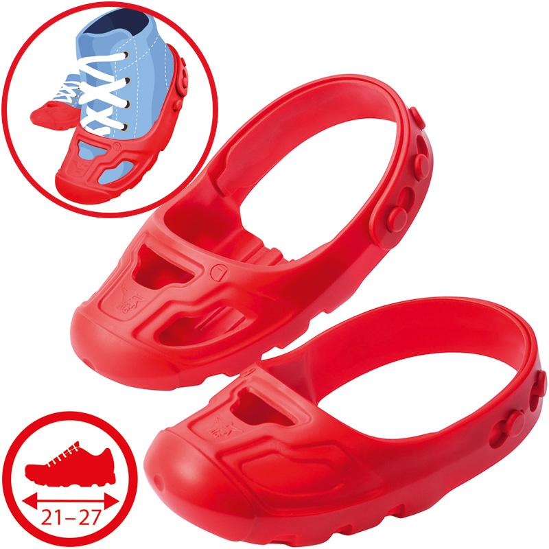 BIG Bobby Car Schuhschützer Shoe Care (Rot) [Kinderspielzeug]