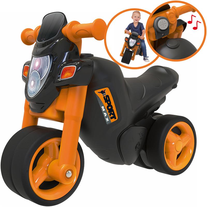 big sport bike motorrad schwarz orange bei spielzeug24. Black Bedroom Furniture Sets. Home Design Ideas