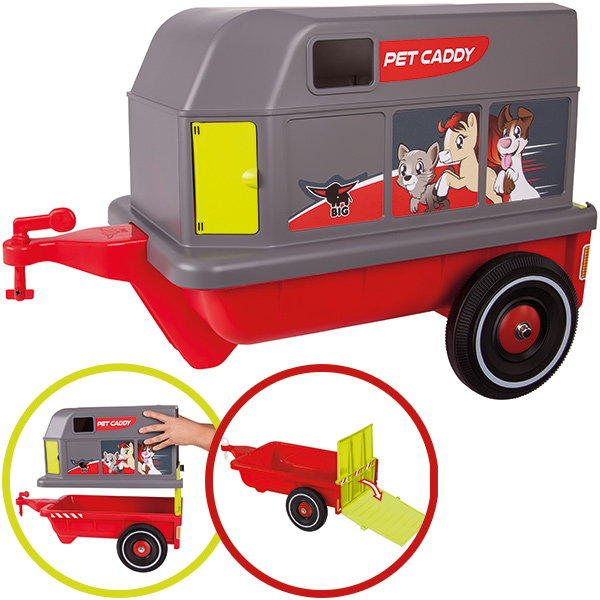 BIG Bobby Car Pet Caddy Tieranhänger [Kinderspielzeug]