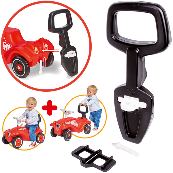 BIG Bobby Car Walker 2in1 Lauflernhilfe [Kinderspielzeug]