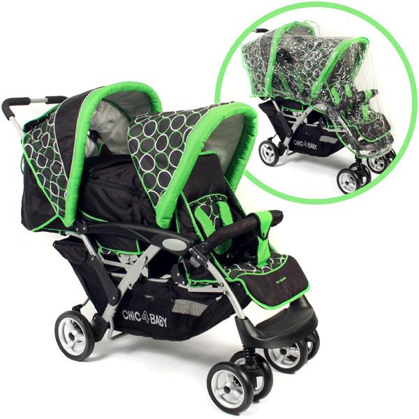 alle bewertungen zu geschwisterwagen duo orbit green bei. Black Bedroom Furniture Sets. Home Design Ideas
