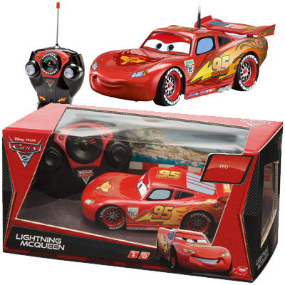 simba rc lightning mcqueen cars ferngesteuertes auto. Black Bedroom Furniture Sets. Home Design Ideas