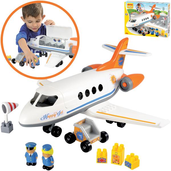 ecoiffier-abrick-flugzeug-happy-jet-kinderspielzeug-