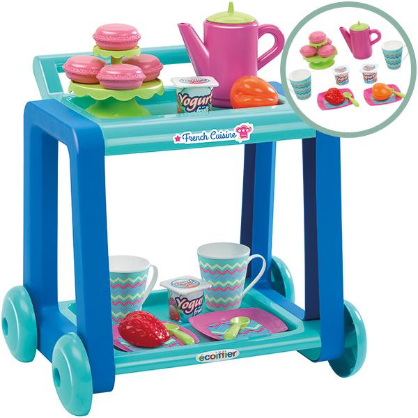 ecoiffier-dessertwagen-mit-geschirr-turkis-blau-kinderspielzeug-