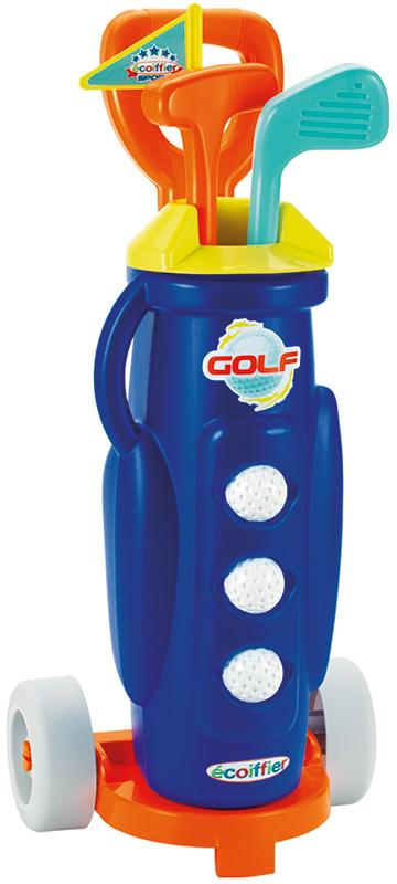 Ecoiffier Golf-Set mit Trolley [Kinderspielzeug]