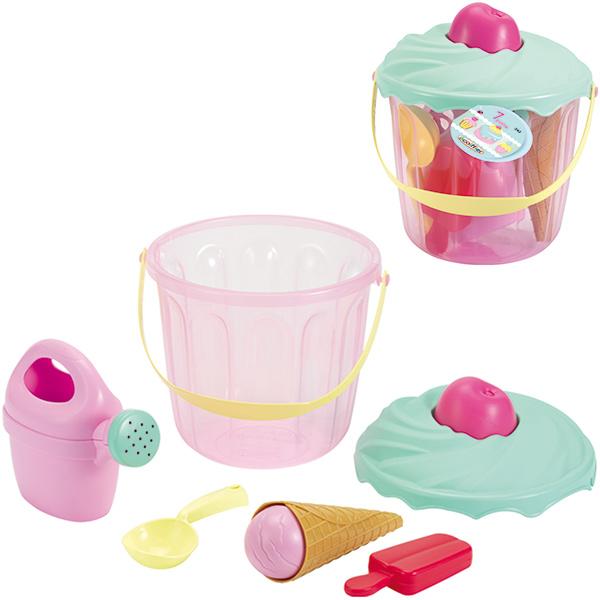 ecoiffier-eimergarnitur-muffin-pastell-kinderspielzeug-