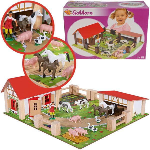 eichhorn-spielset-kleiner-bauernhof-aus-holz-kinderspielzeug-