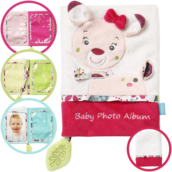 baby-fehn-sweetheart-babys-erstes-fotobuch-reh-wei-pink-babyspielzeug-