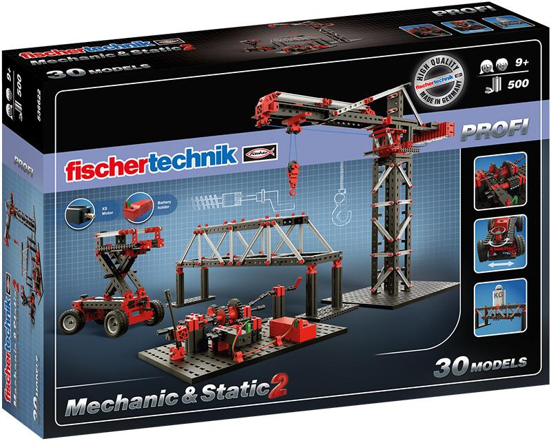 Fischer Technik Fischertechnik Profi Mechanic & Static 2 [Kinderspielzeug]
