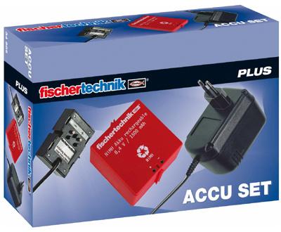 Fischer Technik Fischertechnik Plus Accu Set [Kinderspielzeug]