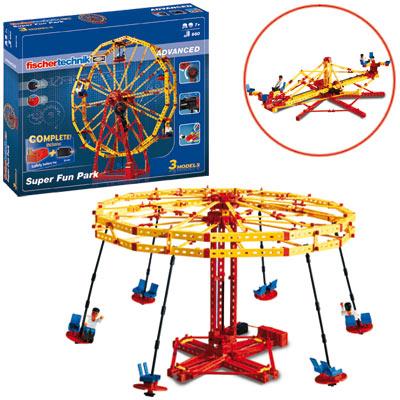 Fischer Technik Fischertechnik Advanced Super Fun Park [Kinderspielzeug]