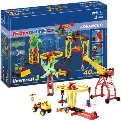 Fischer Technik Fischertechnik Advanced Universal 3 [Kinderspielzeug]