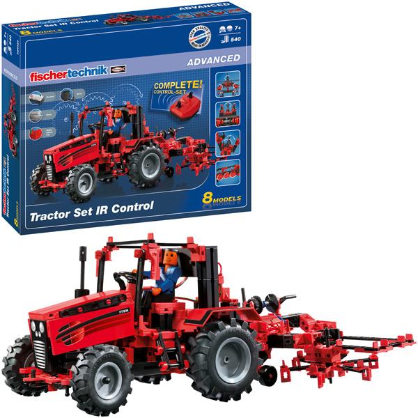 Fischer Technik Fischertechnik Advanced Tractor Set IR Control [Kinderspielzeug]