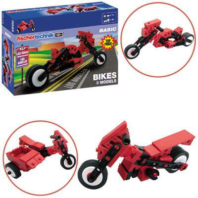 Fischer Technik Fischertechnik Basic Bikes [Kinderspielzeug]