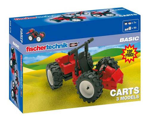 Fischer Technik Fischertechnik Basic Carts [Kinderspielzeug]