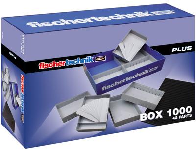 Fischer Technik Fischertechnik Plus Box 1000 [Kinderspielzeug]