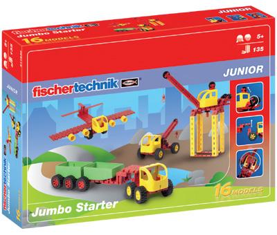 Fischer Technik Fischertechnik Junior Jumbo Starter [Kinderspielzeug]