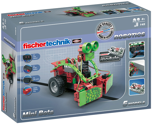 Fischer Technik Fischertechnik Robotics Mini Bots [Kinderspielzeug]
