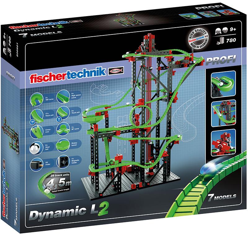 Fischer Technik Fischertechnik Profi Dynamic L2 Kugelbahn [Kinderspielzeug]