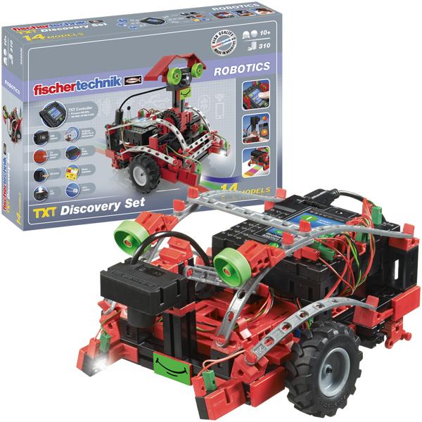 Fischer Technik Fischertechnik Robotics TXT Discovery Set [Kinderspielzeug]