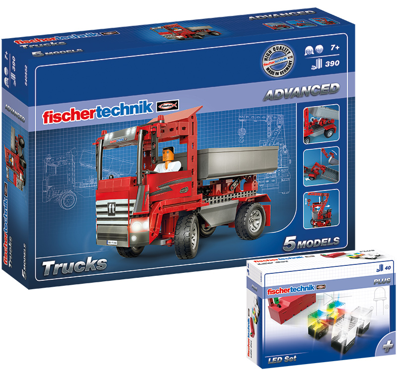 Fischer Technik Fischertechnik Advanced Trucks ...