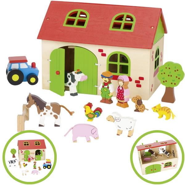 goki-mein-kleiner-bauernhof-aus-holz-mit-zubehor-kinderspielzeug-