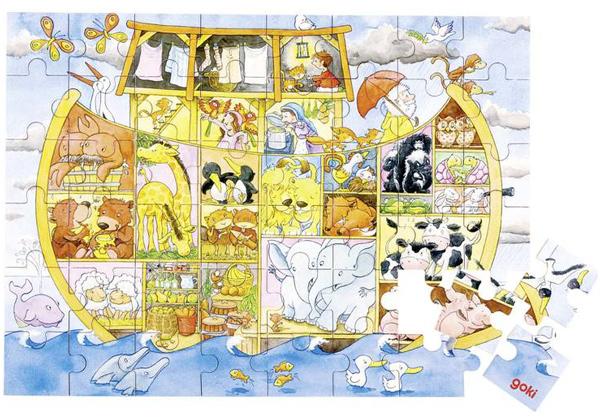 goki-holzpuzzle-leben-auf-der-arche-noah-48-teilig-kinderspielzeug-