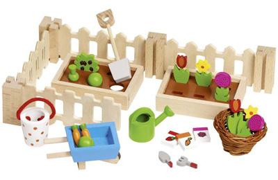 Puppenhaus-Accessoires Mein kleiner Vorgarten [Kinderspielzeug]