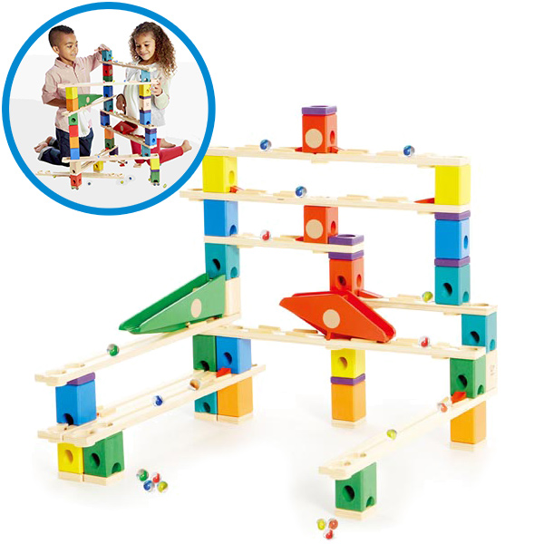 Hape Quadrilla Murmelbahn Autobahn [Kinderspielzeug]