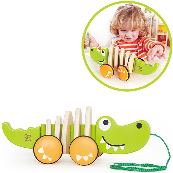 hape-nachziehtier-krokodil-croc-babyspielzeug-