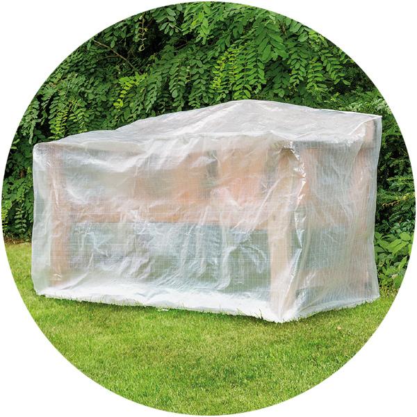 alle bewertungen zu schutzh lle f r gartenbank bei spielzeug24. Black Bedroom Furniture Sets. Home Design Ideas