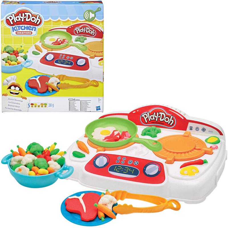 Hasbro Play-Doh Brutzel-Herd [Kinderspielzeug]