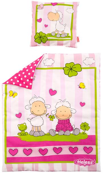 Möbel Pink Heless Puppenbettzeug Glücksschäfchen