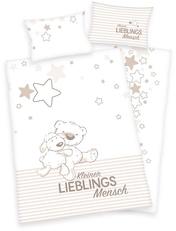 herding-renforce-kinder-bettwasche-jana-lieblingsmensch-100-x-135-cm-wei-braun-babyausstattung-