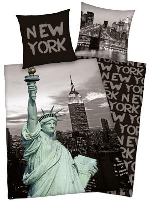 preisvergleich eu bettw sche new york. Black Bedroom Furniture Sets. Home Design Ideas